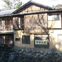 桂川に面した部屋が趣があります