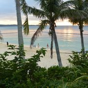 綺麗なビーチ!