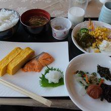 和食にしました。