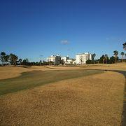 とてもきれいに整備されていたゴルフコース