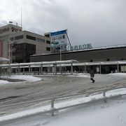 竜飛崎への出発駅