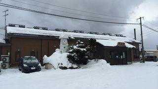 津軽半島の玄関口。駅から歩いてすぐの「ウェル蟹」もぜひ立ち寄りましょう