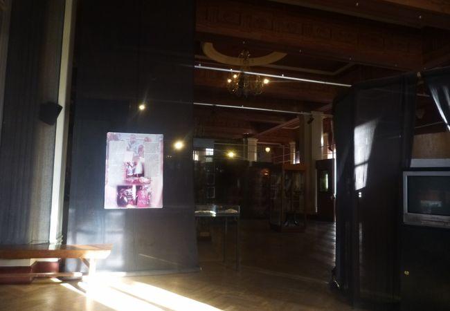 アディスアベバ大学構内にある博物館