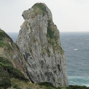 壱岐の猿岩。
