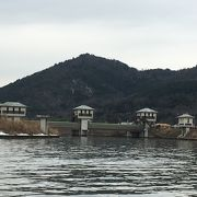 水郷観光の船で観光