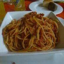 トマトスパゲッティー(95birr)
