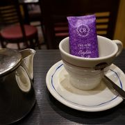 紅茶とコーヒー専門店