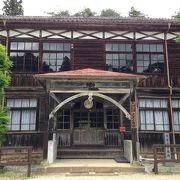 古風な木造校舎