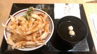 富山ならではの白えび天丼 駅ナカ便利
