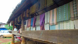 フエイフン村の織物ギャラリー