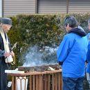 奈良県東大寺二月堂松明調進行事