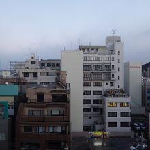 8階客室からの眺め