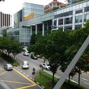 駅の上のショッピングセンター