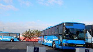 カターニアのinterbus/Etna trasportiターミナル。