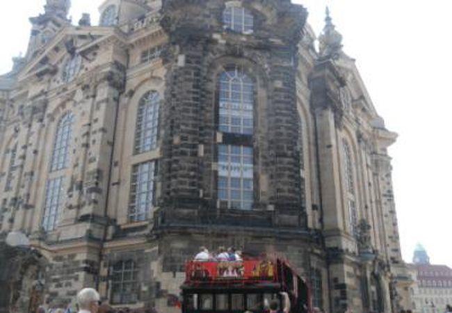 ドレスデン聖母教会 平和の大切さを訴えていました