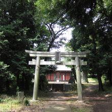 下飯田左馬神社