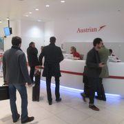 オーストリア航空ラウンジ ホーンサークルラウンジ (ウィーン国際空港)