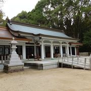 宮崎神宮の敷地の西端