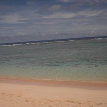 きれいなビーチ