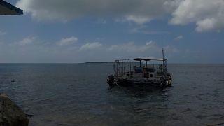 きれいな海で一日遊べます!!