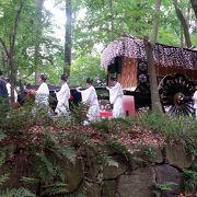 伝統的なお祭り、衣装が見応えあるけど、静かなお祭り