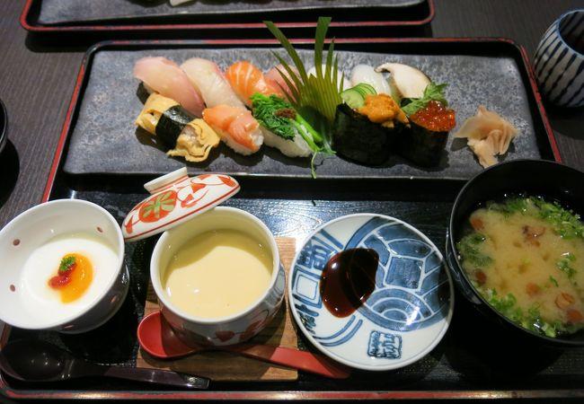 お得な寿司ランチ