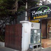 バンコクの老舗イタリアンのひとつです