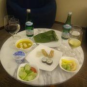 バリ島へガルーダ・インドネシア航空ファーストクラスで行った際に入ったラウンジのクチコミ