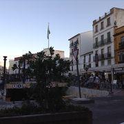 新市街の広場
