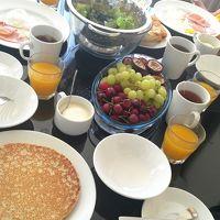 キッチンフル活用の朝食