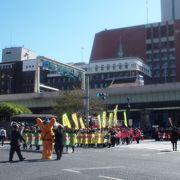 中央通のパレード