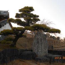 掛川城公園の石碑