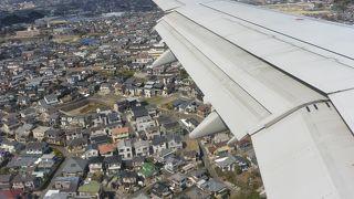 ちょっとレトロで南国感溢れる空港