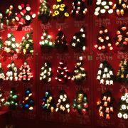 クリスマス製品がいっぱい