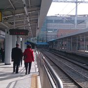 仁川市街の観光拠点なのにコインロッカーが少ない
