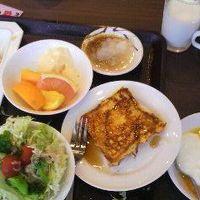 朝食バイキング 焼き立てフレンチトースト 食べ過ぎました