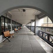 外地とを結んだ航路のかつての旅客ターミナル。