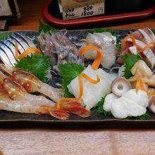 特別に頼んでおいた 富山湾10種盛り