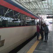 水原行きの列車で利用しました。
