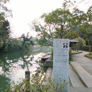 柳川水郷の散歩はとても清々しいです