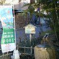 薬壷の手湯 (洞爺山水ホテル和風敷地内)