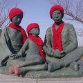 写真:赤い靴 記念像