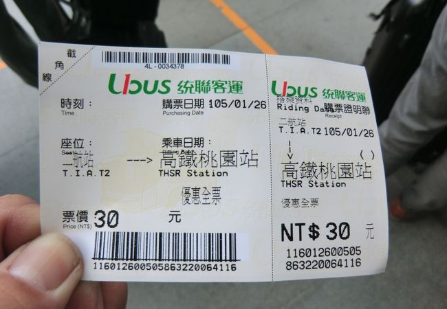 チケットです。
