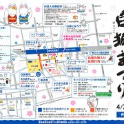 2016年の湯田温泉白狐まつりは4月2日、3日です。県道の通行規制にご注意!