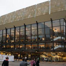 コンサートホールの外観です。