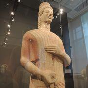 古代ギリシャ・ローマの彫刻や陶器のコレクション中心の博物館、「祈る少年」「ベルリンの女神」など見応えある展示物が多いです。