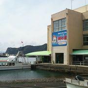 遊覧船で巡るタイの生息地