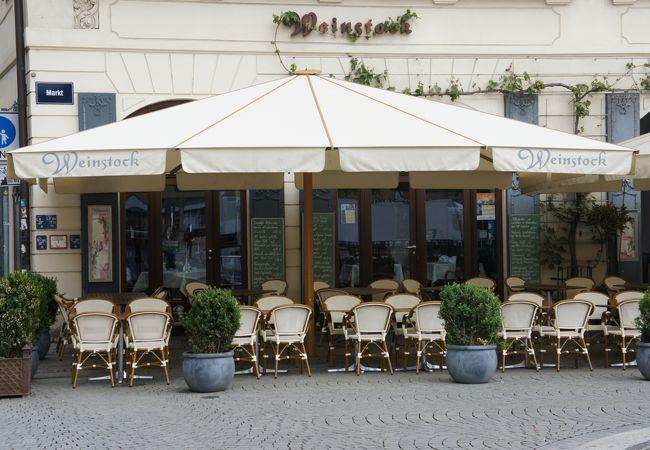 ライプツィガー・アーレライで有名なライプチヒ観光局推薦のワインレストランです。
