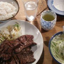 牛タン定食(1.5人前)