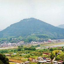 高山寺山から見た冨士山